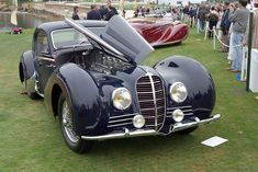 1946 Delahaye 145 Gallery | Delahaye | SuperCars.net Classic European Cars, Classic Cars, Vintage Cars, Antique Cars, Old Fashioned Cars, French Government, Streamline Moderne, Mini Trucks, Motor Car