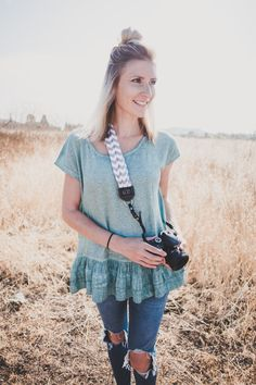 Super Cute Camera Straps: MOD - Cute Scarf Camera Straps - Cute Purse Style Camera Bags