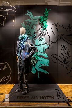 Dries van Noten Window Design