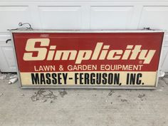 Check out this, Vintage Massey Ferguson Tractor Lighted Sign Double Sided Advertising Bilboard on PrairieGrit.com. The collectors marketplace!