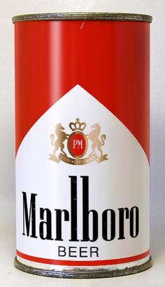 """Marlboro Beer: """"our rarest can"""""""