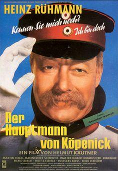 Poster zum Film: Der Hauptmann von Köpenick. 1956