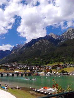 Lago di Auronzo Belluno Dolomiti Veneto Italia foto Gabriella Dennetta