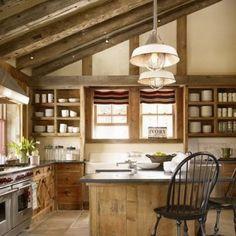 12 idées de cuisine aménagée dans le grenier