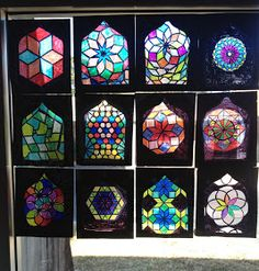 Artful Artsy Amy: Lesson Plan: Islamic Stained Glass Windows