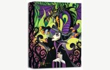 Treasures on Canvas: Maleficent's Fury by Tim Rogerson