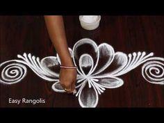 Indian Rangoli Designs, Rangoli Designs Latest, Rangoli Designs Flower, Rangoli Border Designs, Rangoli Designs Images, Beautiful Rangoli Designs, Free Hand Rangoli Design, Rangoli Borders, Muggulu Design