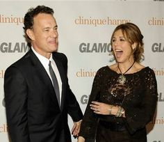 Tom Hanks and Rita Wilson - Having just celebrated their 25th wedding anniversary, this couple looks as happy as ever. Men all over the world shed a tear when Hanks took this beauty off the market back in 1988.