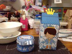 Potinho de papinha e Caixinha de leite