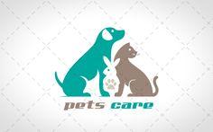 Awesome Pets Logo For Sale #logos #designs #pets #sale # vector website logo #shop logo #template