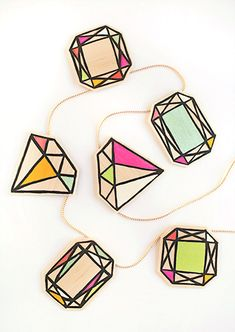 Gather your craft supplies and get ready to make your own gemstones. Real diamonds are so overrated!