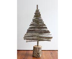 Handcrafted silver birch Christmas Tree - medium  Greg Hatton