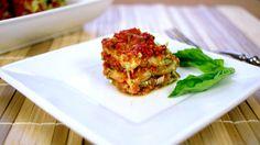 Raw, Nut Free Lasagna  (Vegan, Gluten Free, Grain Free, Allergy Friendly)