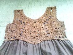 crochet dress. me gustan los colores