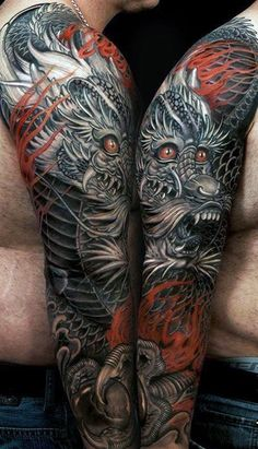 100 Dragon Sleeve Tattoo Designs For Men Fire Breathing: 100 Dragon Sleeve Tattoo Designs For Men Fire Breathing. 100 Dragon Sleeve Tattoo Designs For Men Fire Breathing. Dragon Tattoos For Men, Dragon Sleeve Tattoos, Japanese Dragon Tattoos, Japanese Sleeve Tattoos, Dragon Tattoo Designs, Full Sleeve Tattoos, Tattoo Sleeve Designs, Tattoo Designs Men, Tattoo Sleeves