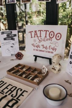 Farm Wedding with Piglets, Their French Bulldog & Lots of Rum! · Rock n Roll Bride Farm Wedding with Piglets, Their French Bulldog & Lots of Rum! · Rock n Roll Bride Farm Wedding, Wedding Ceremony, Dream Wedding, Wedding Bride, Perfect Wedding, Witch Wedding, Outdoor Ceremony, Wedding Couples, Tattoo Station