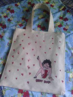 Tote bag Betty Boop