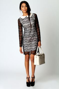What style are you going for this A/W?We love Manhattan Lady with the Lily Shift Dress!