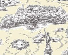 If It's Hip, It's Here: Twisted Toile: Witty Wallpaper & Home Accessories With A Modern Toile.