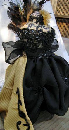 Marie Masquerade Dress Form Swap by rebecca rose designs, via Flickr