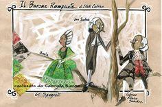 #GabriellaBianco. Il Barone Rampante - from Italo Calvino