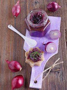 Confiture d'oignons rouges ultra simple - Recette de cuisine Marmiton : une recette