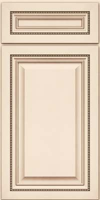 Square Raised Panel Solid Aa1m6 Square Canvas W Cocoa