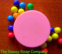 Bubblegum Soap by TheSassySoapCo on Etsy, $5.25