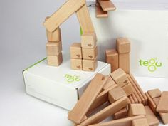 Tegu Magnetic Wooden Building Blocks - This is a fantastic company supporting some of the poorest people in Hondoras