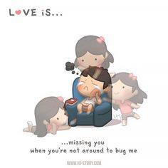 HJ-Story :: Love is… Missing you