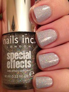 Zoya - Megan & Nails Inc. - Electric Lane Holo Glitter Top Coat