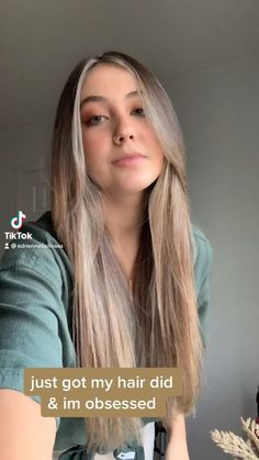 Light brunette hairstyles | curtain bangs