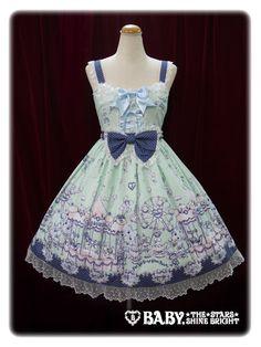 Baby, the stars shine bright Milk chan's Fantasy Wonderland jumper skirt Ⅱ