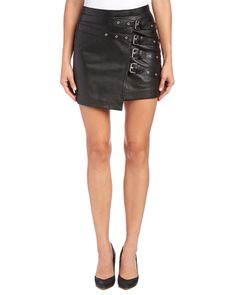 Spotted this The Kooples Buckle Detail Leather Skirt on Rue La La. Shop (quickly!).