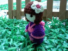 ~ ~ Hook & Yarn ~ ~: Crochet Kokeshi Doll