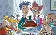YES! Me and my sister tried to watch Rugrats in Paris on VHS last night...and our super old VCR ate it a little. :(