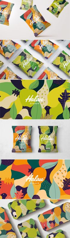 The Packaging for These Fruit Snacks Were Inspired By The Isles of Hawaii The Dieline Packaging Branding Design Innovation News Fruit Packaging, Brand Packaging, Design Packaging, Packaging Ideas, Custom Packaging, Design Art, Logo Design, Web Design, Design Ideas