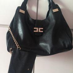 Borsa Elisabetta Franchi Shoulder Bag, Fashion, Moda, La Mode, Fasion, Fashion Models, Trendy Fashion