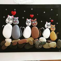 Bir siparis daha bitti gule gule kullansin @cecemnaz #elyapimi #siparisalinir #handmade #handpainted #taşboyama #taşboyamasanatı #rockpainting #pebbleart #sanat #hediye #art #stonepainting #stoneart #cat #kedi #taşpano #taskolik #10marifet #hobinisat #elemeği #elemeginedestek #asik #kediler #martkedileri#sassidipinti #tablo