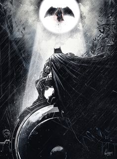 """Batman vs. Superman"" by JP Valderrama"