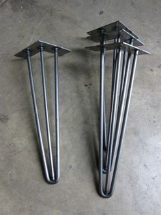 Hairpin legs for DIY tables