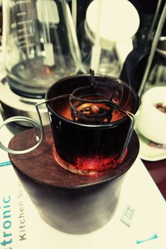 Coffee Candle, Red Wine, Alcoholic Drinks, Candles, Tableware, Glass, Food, Dinnerware, Drinkware