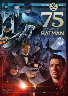 """#75años del """"Caballero de la Noche""""... #BATMAN #75yearsofBatman"""