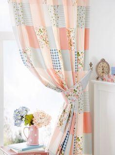 easy DIY patchwork curtain  belfasttelegraph.co.uk