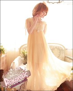 Boho plaited chiffon maxi dress Pinkoholic, Asian Fashion Gateway