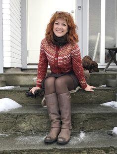 Kort Setesdalskofte Knitting, Pattern, Style, Fashion, Swag, Moda, Tricot, Stylus, Cast On Knitting