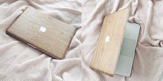 Walnut wood Macbook Cover | Lotte Manou | lifestyle blog