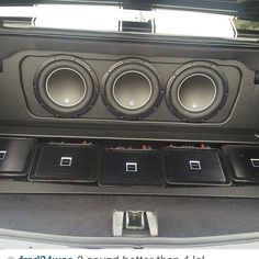 70 chevelle  #BecauseSS custom car stereo jl audio subwoofers amps trunk