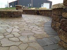 We Built This Patio In Holmes County Ohio. The Paver Stone Is Supposed To  Mimic