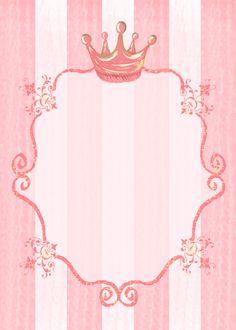 #princess party invitation background, #kids stationery
